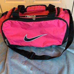 Hot pink Nike Gym bag